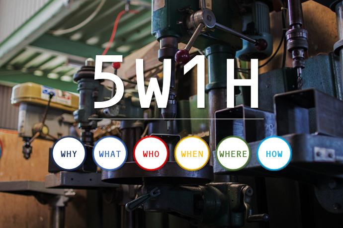 5W1Hの例文で解説する順番の大きな意味とは?